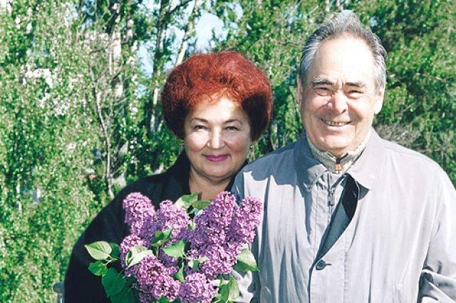 Сакина и Минтимер Шаймиевы.