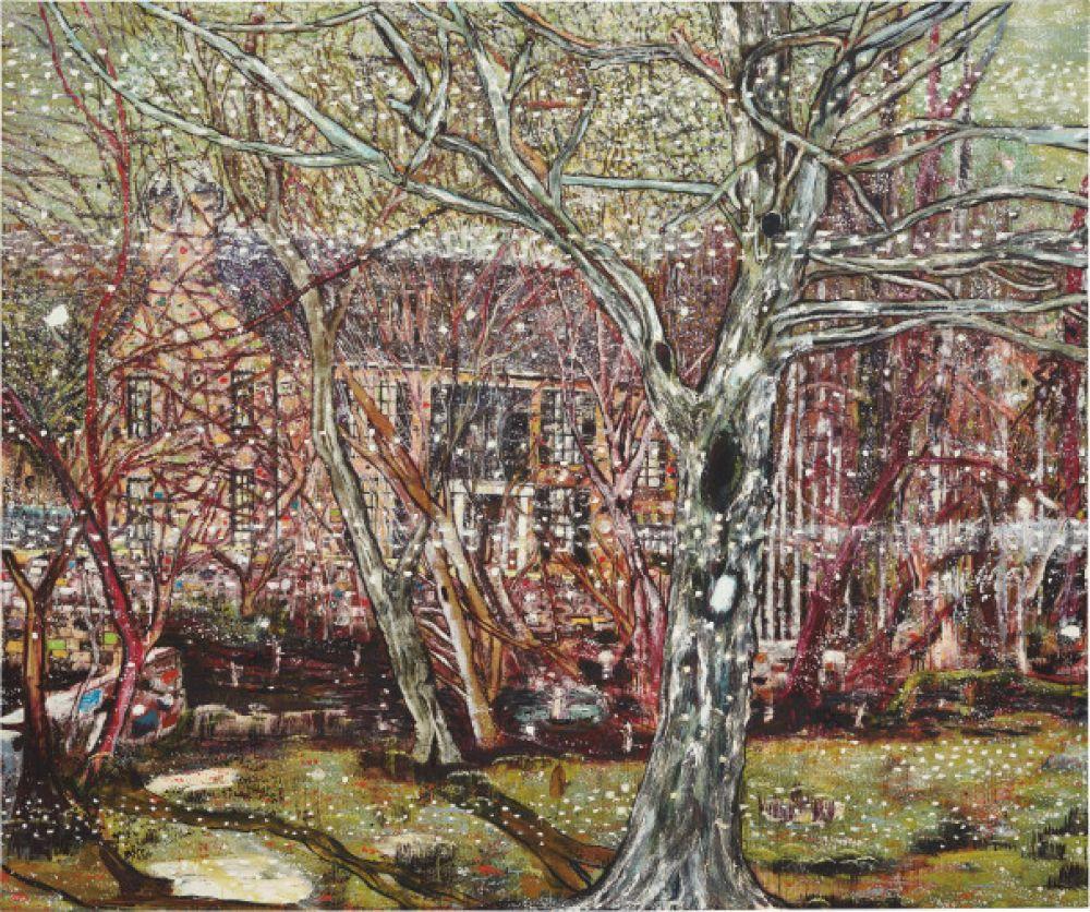 Британский художник Питер Дойг работает в «непопулярном» сейчас жанре пейзажа. Картина «Роуздейл» в 2017 году была продана за 28 млн долларов.