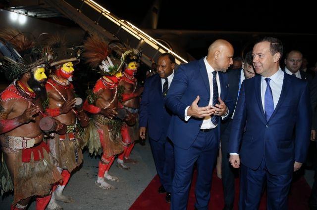 Медведев прибыл на саммит АТЭС в Папуа-Новую Гвинею