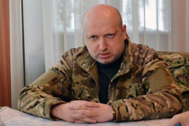 Турчинов: Украина не будет вести переговоров с лидерами «ЛНР» и «ДНР»