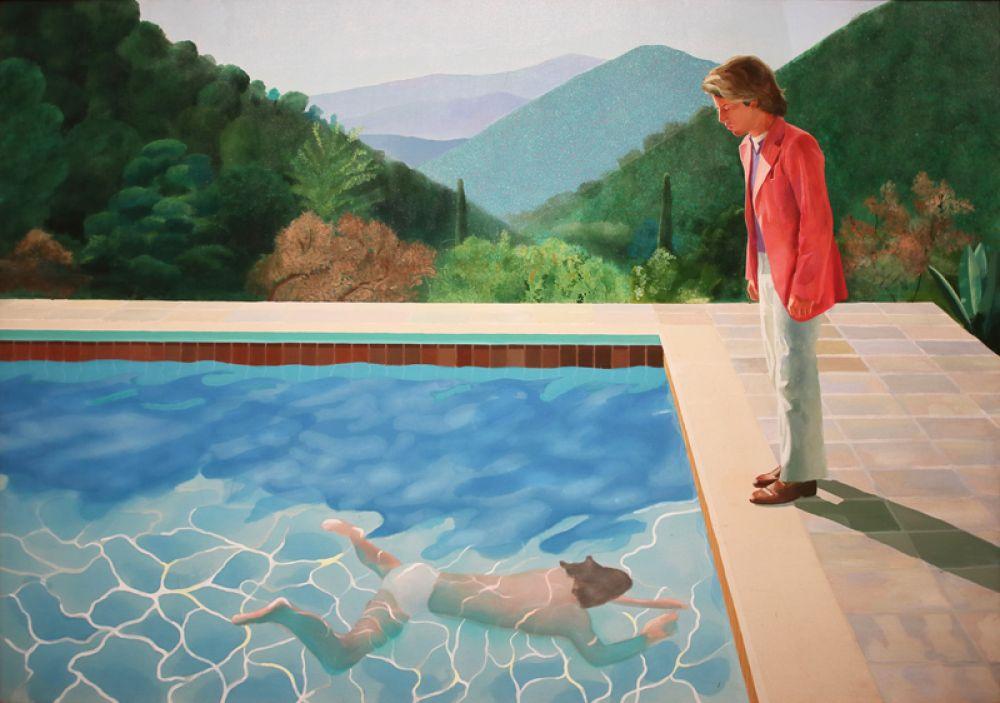 Дэвид Хокни «Портрет художника (Бассейн с двумя фигурами)» — 90 млн долларов.