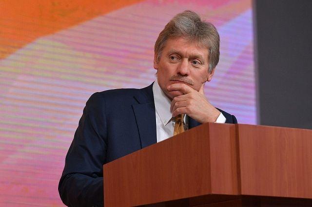 Песков: действия России в Азовском море являются законными