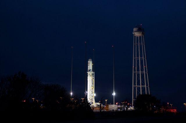 В США стартовала ракета Antares с космическим кораблем Cygnus