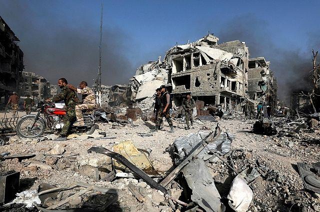 СМИ: в Сирии при авиаударе коалиции погибли 40 человек