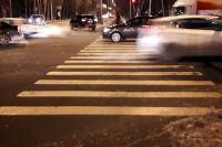 В Тюмени на пешеходном переходе по улице Рижской сбили мужчину