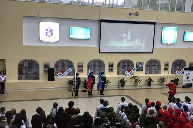 Новоуренгойские кадеты присоединились к сетевому проекту «ЮнАрктика»