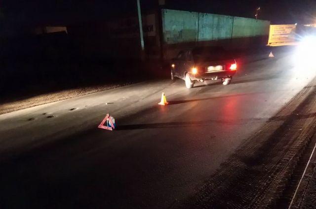 В Оренбурге на ул. Базовой «ВАЗ» сбил пожилого пешехода