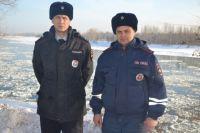 Лейтенанты полиции Евгений Лунин и Павел Истомин.