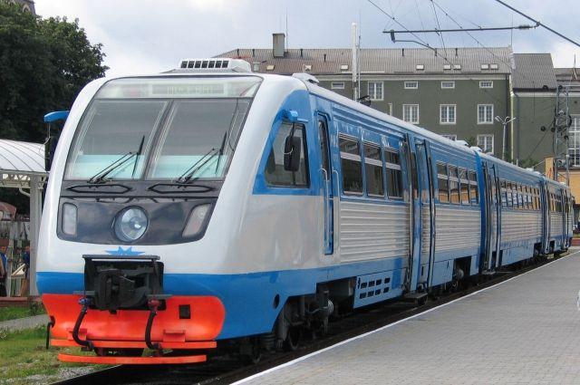 Калининградцам предлагают выбрать удобное время для рельсобуса из Гурьевска.