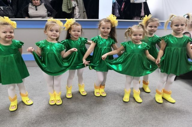 В Ноябрьске состоялся фестиваль дошкольников «Тропинками добра»