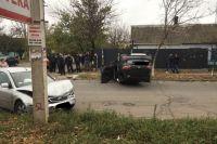 В Херсоне в результате столкновения перевернулось авто: пострадал ребенок