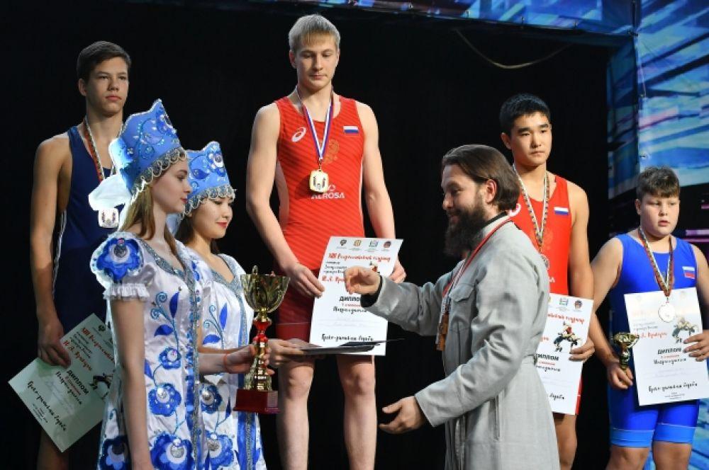 XIII Всероссийский турнир по греко-римской борьбе