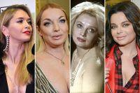 Вера Брежнева, Анастасия Волочкова, Наталья Кустинская, Наташа Королева.