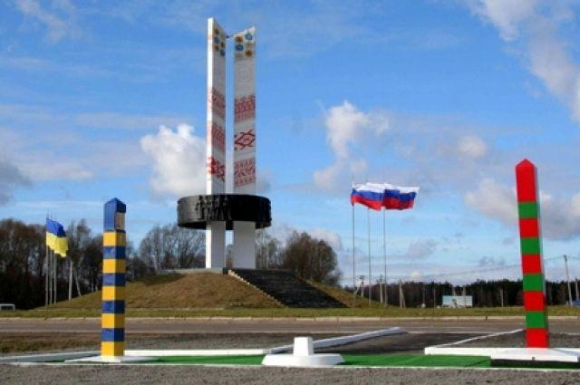 Граница между Украиной и Россией в Ростовской области