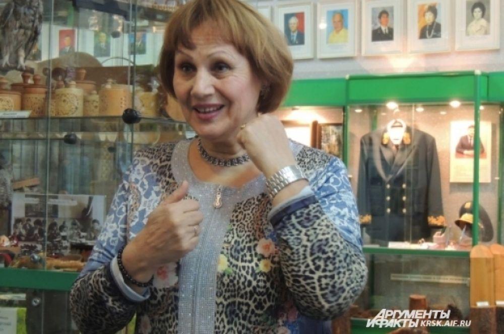 Директор музея Наталья Горских. Нередко сама устраивает гостям экскурсии.