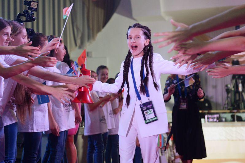 Представительница Украины Дарина Красновецкая.