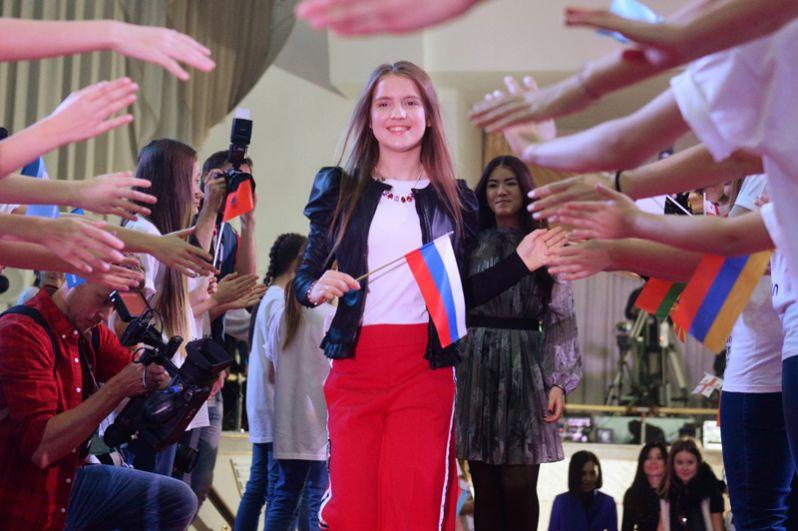Представительница России Анна Филипчук.