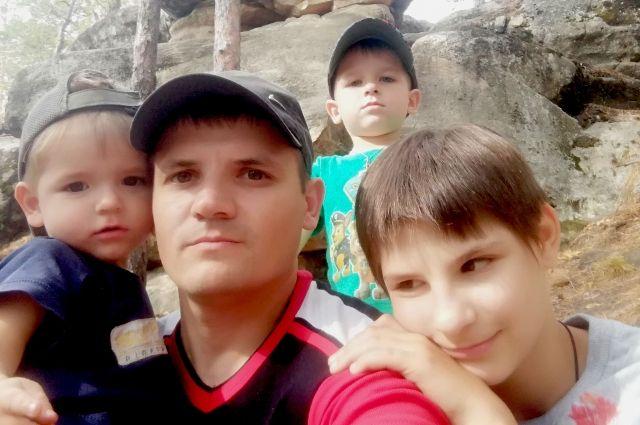 Начальник отдела АСРМБ Максим Дмитриев также растит троих детей.