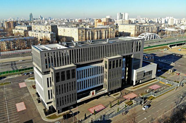 Новый дом для УВД по Восточному округу московского ГУ МВД России.