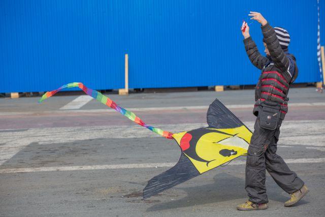 Воздушный змей свободы, взлетай!
