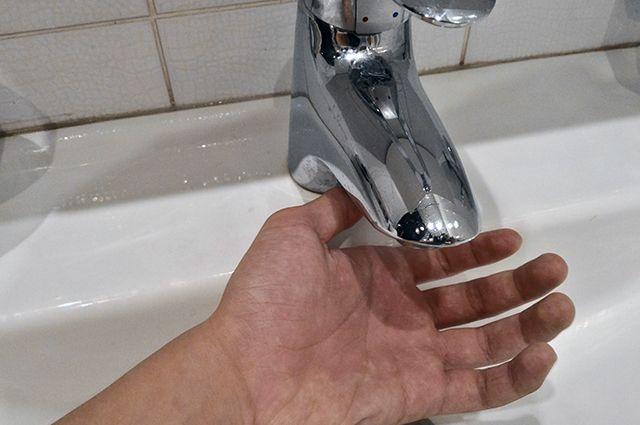 В одном доме города нет горячей воды.