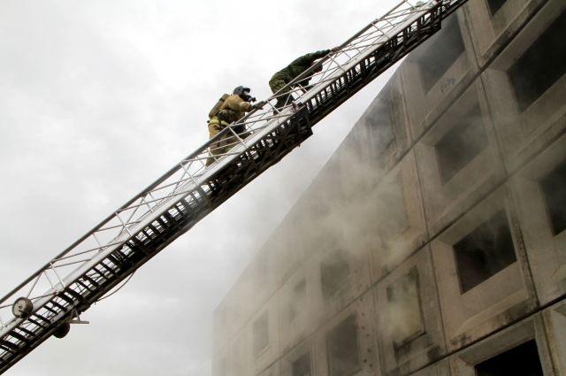 21 ноября поступила информация о возгорании в подвале жилого дома по улице Верхнеудинская.