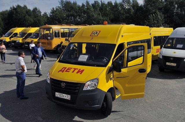 В Хабаровский край завезут 12 новых школьных автобусов.
