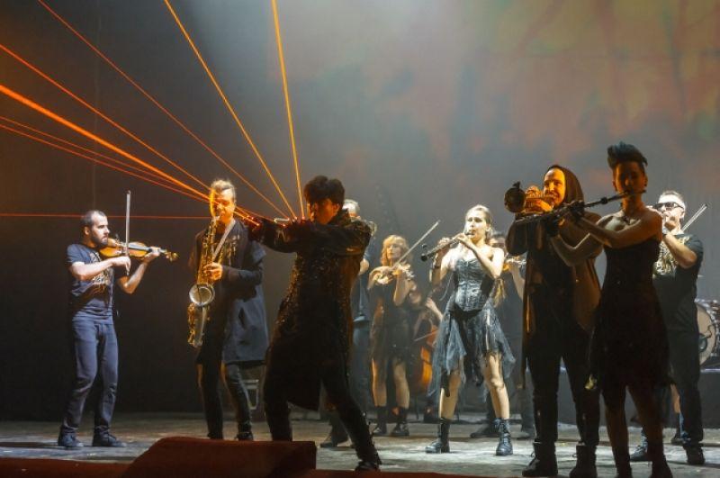 Магическая волна рока в симфоническом звучании проходит  по 55 российским городам.