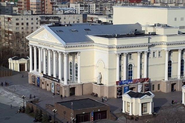 Тюменский драматический театр.