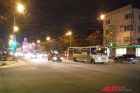 Перекрёсток проспекта Маркса и улицы Маяковского