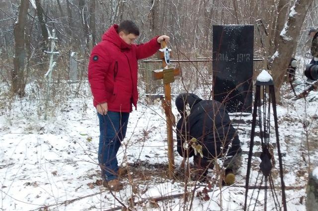 В Перми восстановили могилы Егошихинского кладбища.