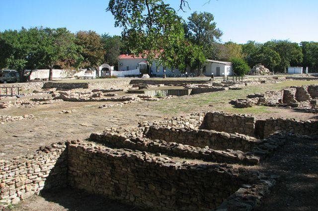 Раскопки античного города Горгиппия в Анапе.