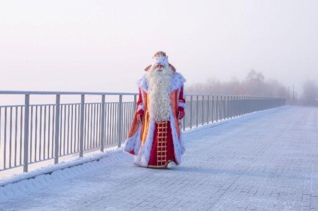 Путешествие по российским городам займёт у Деда Мороза два месяца.