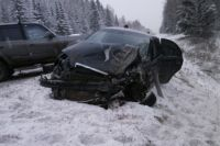 Авария произошла в 16.05 на 58 км федеральной трассы Е22 Пермь-Екатеринбург.