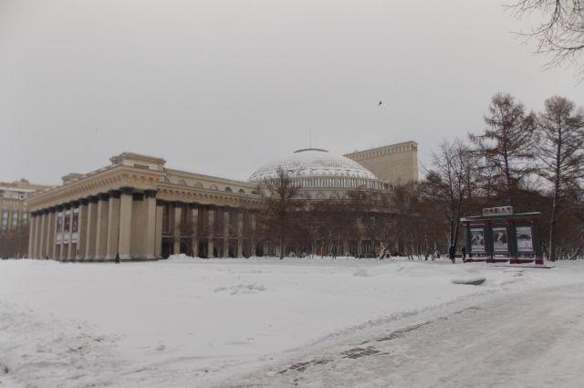 Новосибирск накроет снегопадами.