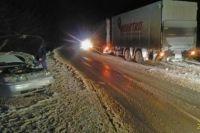 ДТП произошло 21 ноября в 19.00. По дороге Чернушка-Куеда, со стороны Куеды в направлении Чернушки двигался автомобиль Богдан-2110