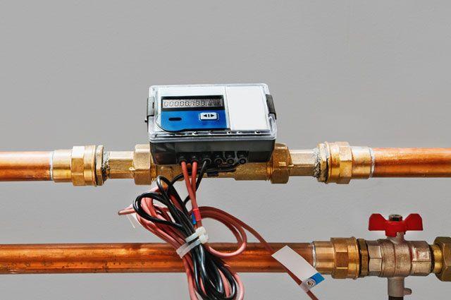 Как установить счетчик отопления?