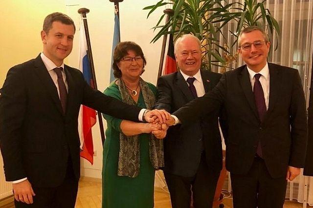 Встреча представителей власти двух городов