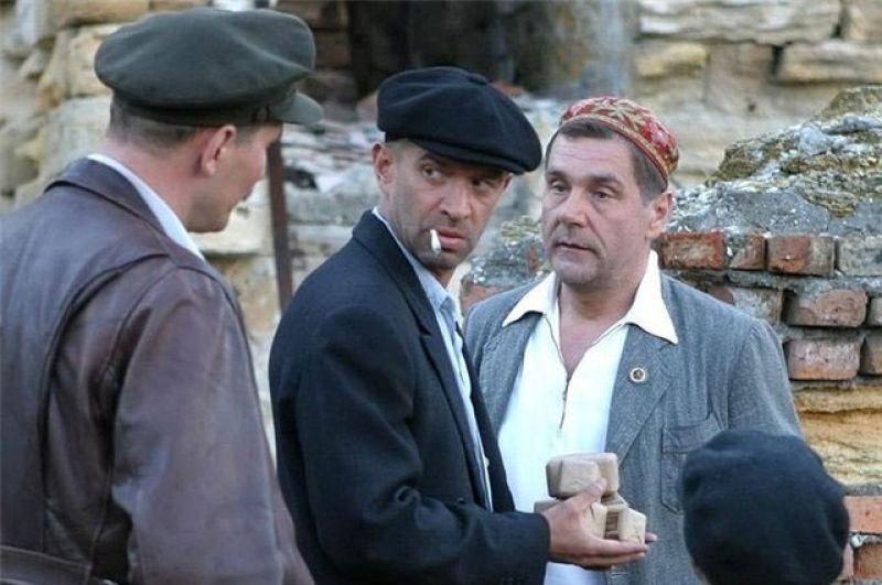 «Ликвидация» (2007) — замначальника одесского уголовного розыска Давид Маркович Гоцман.
