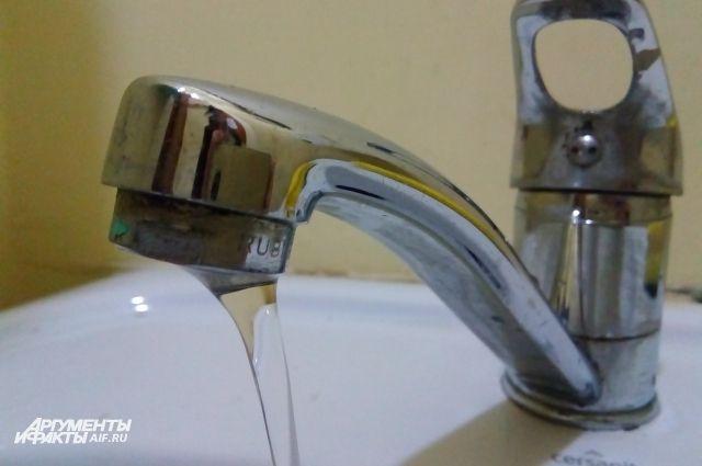 Калининградцам посоветовали не пить воду из-под крана.