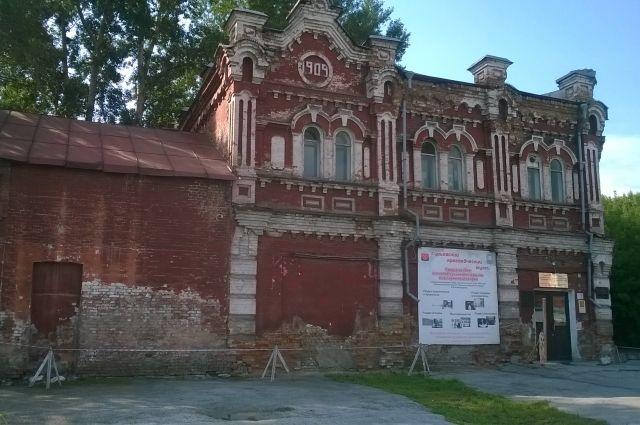 Дом купца Ермолаева - единственный памятник дореволюционной эпохи, сохранившийся в Гурьевске.