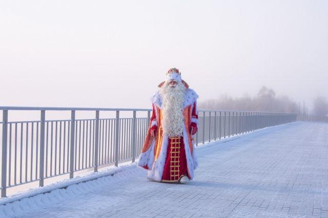 Дед Мороз будет в Перми 28 и 29 ноября.