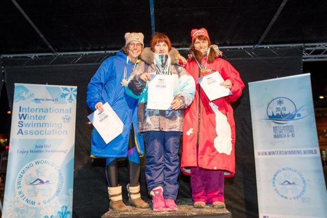 Марина Исаева завоевала золото на чемпионате мира в Таллине