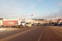 62-летний водитель грузовика MAN  при выезде с прилегающей территории столкнулся в автобусом «Газель-Некст», за рулём которого находился 59-летний мужчина.