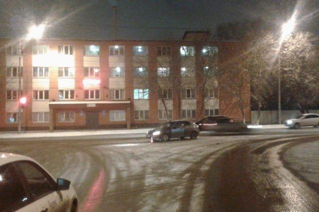 В центре Оренбурга в ДТП пострадал 14-летний подросток