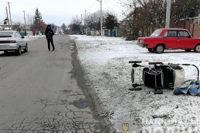 Под Днепром пьяный водитель сбил беременную женщину с ребенком