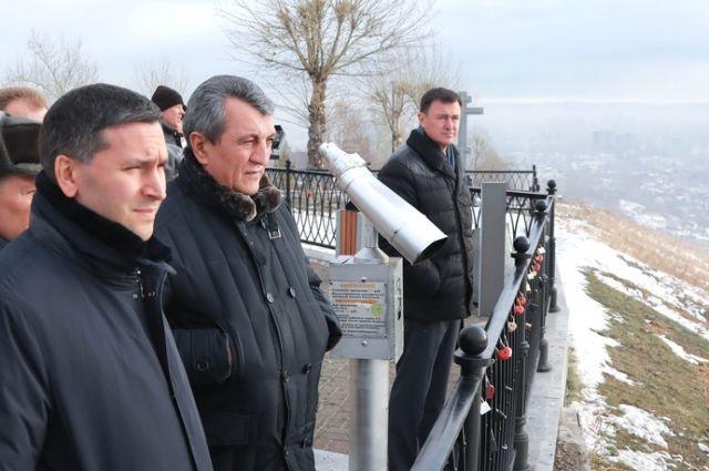 Федеральные чиновники оценили экологию Красноярска.