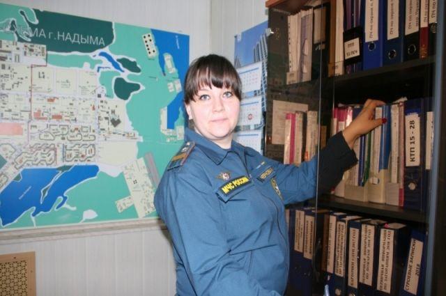 Сотрудница пожарной охраны Надыма стала «Звездной мамой»
