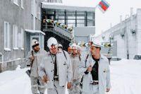 Рабочая бригада шахты «Юбилейная».