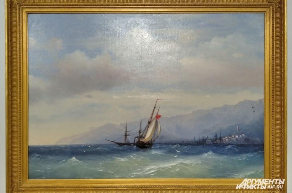 Виды Ялты и ее окрестностей вдохновляли мариниста Ивана Айвазовского.